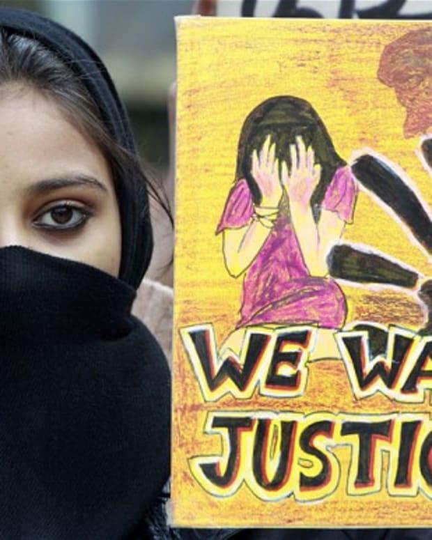 Rape Protest.