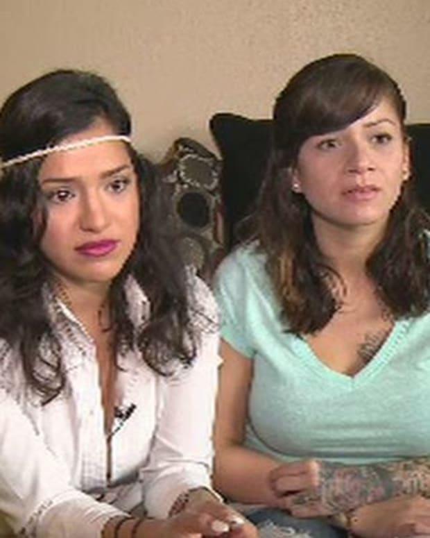 Monica Briones (left) and Holly Montellano