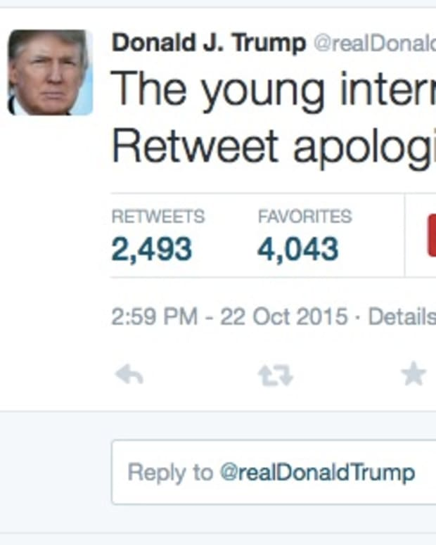 Donald Trump Twitter Apology