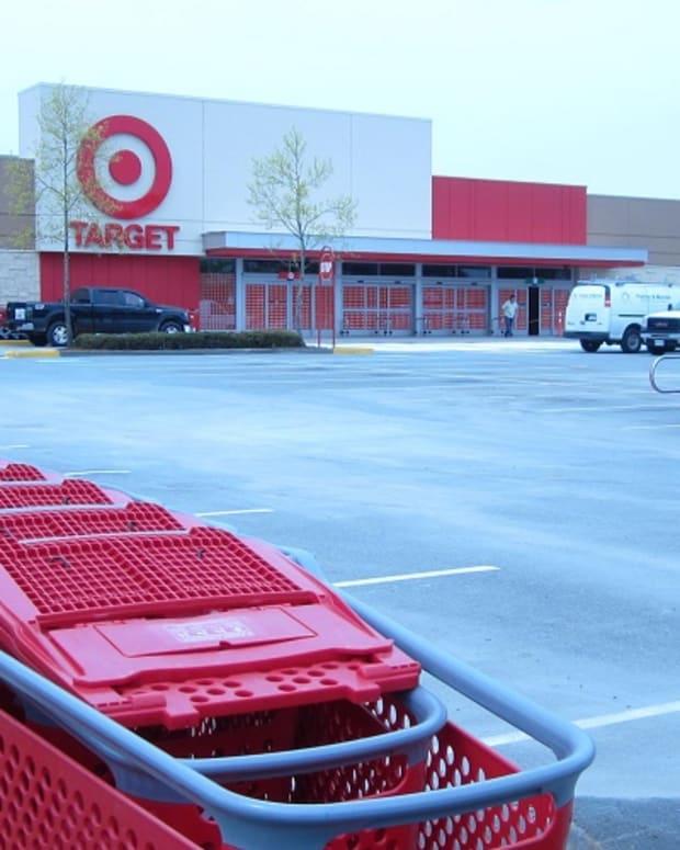 Inside shot of Target store