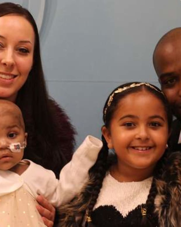Layla Richards And Her Family.