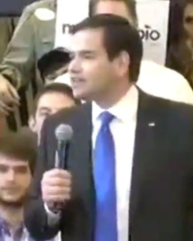 Sen. Marco Rubio: Donald Trump Is 'Unelectable' (Video) Promo Image