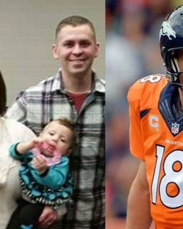 Army Wife Writes Letter To Peyton Manning, Gets Contacted By Police Promo Image