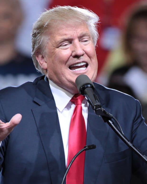 Trump Praises Brexit Vote Promo Image