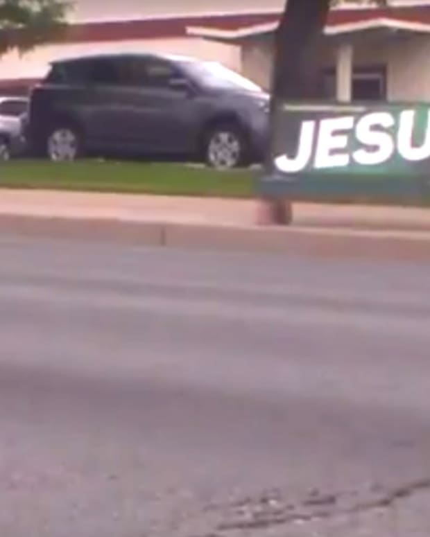 Pastor: Colorado Springs Bans 'Jesus' Signs (Video) Promo Image