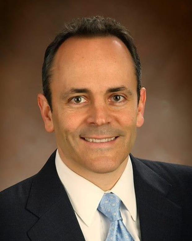 Kentucky Gov. Matt Bevin.