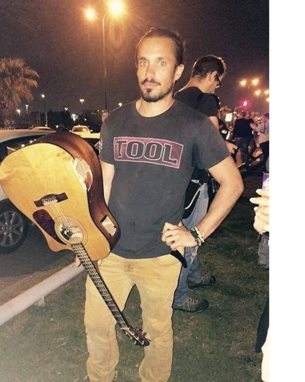 Israeli Musician Attacks Terrorist With Guitar Promo Image
