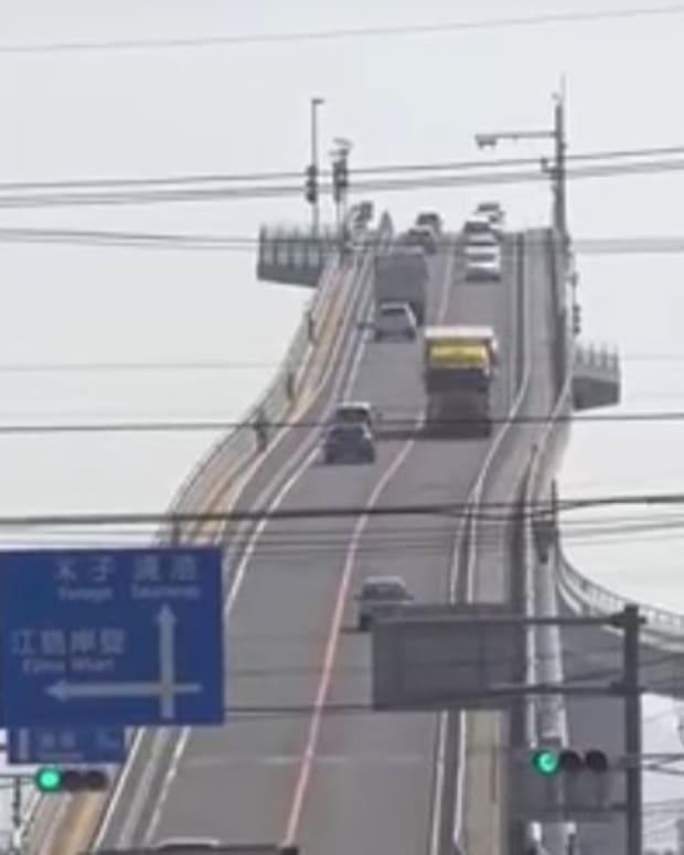 This Japanese Bridge Is Terrifying (Video/Photos) Promo Image