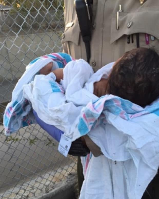 Newborn Buried Near Compton Riverbed.