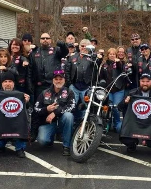 Biker Organization Supports Abused Children (Video) Promo Image