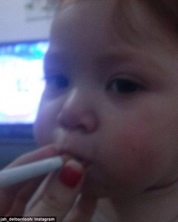 Baby Smoking.