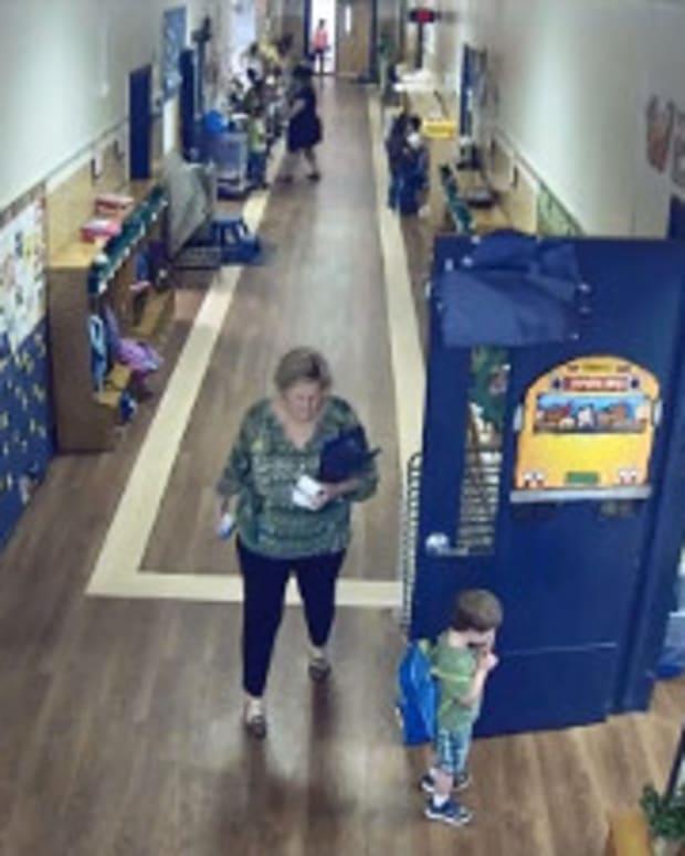 Preschool Teacher Knocks Down Special Needs Boy (Video) Promo Image
