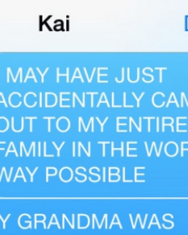 Katie's text messages
