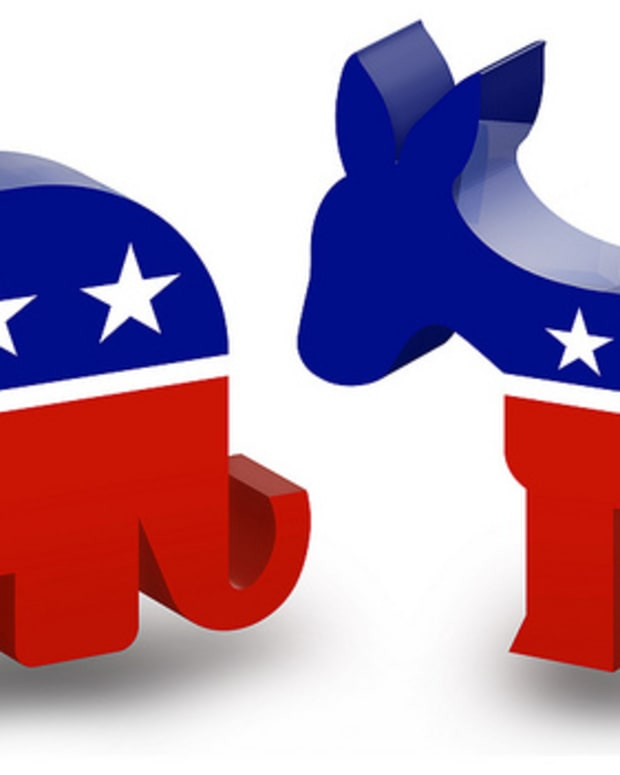 Republican Elephant, Democratic Donkey