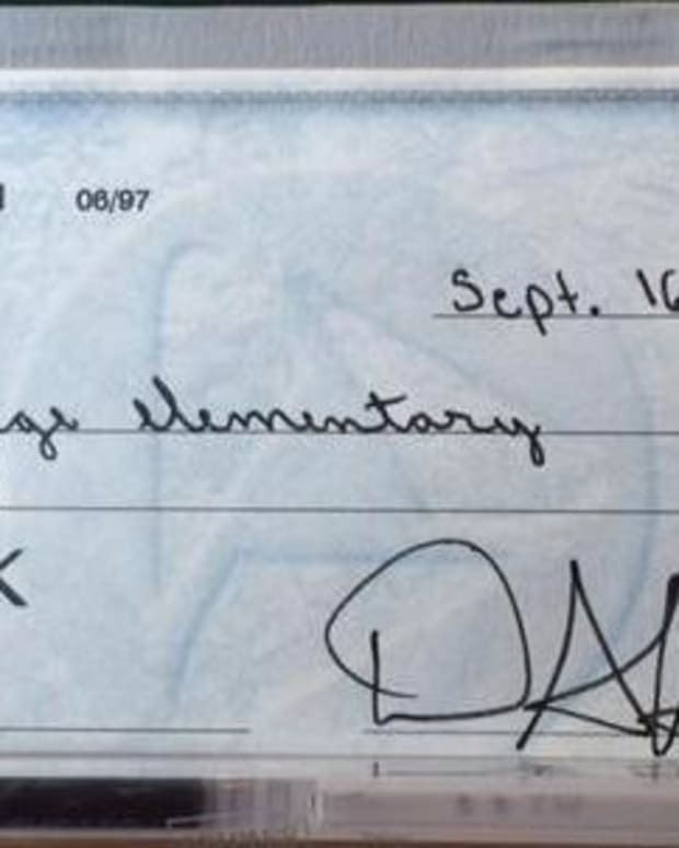 Frustrated Father Sends Son's School A Message With This 'Common Core' Check (Photo) Promo Image