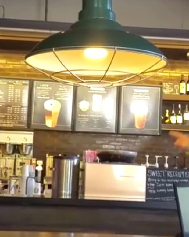 Starbucks Customer Slams Florida Gov. Rick Scott (Video) Promo Image
