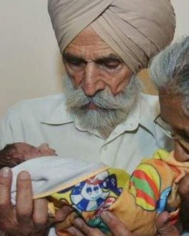Indian Couple In Their 70s Have Baby To Secure Inheritance Promo Image