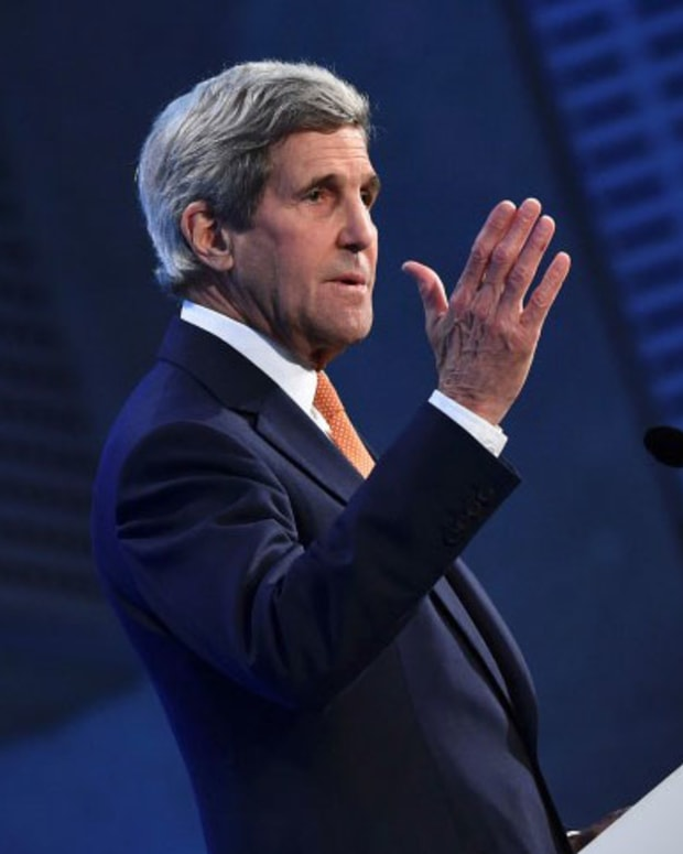 John Kerry speaks about Syria
