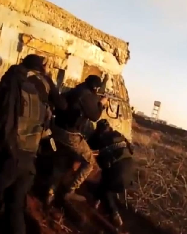 ISIS Fighter Captures Own Death On GoPro Camera (Video) Promo Image
