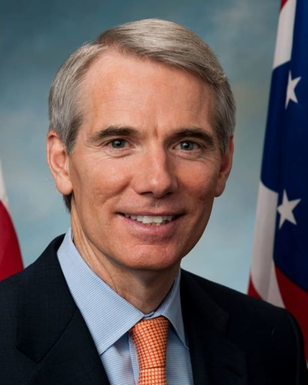 Republican Sen. Rob Portman of Ohio