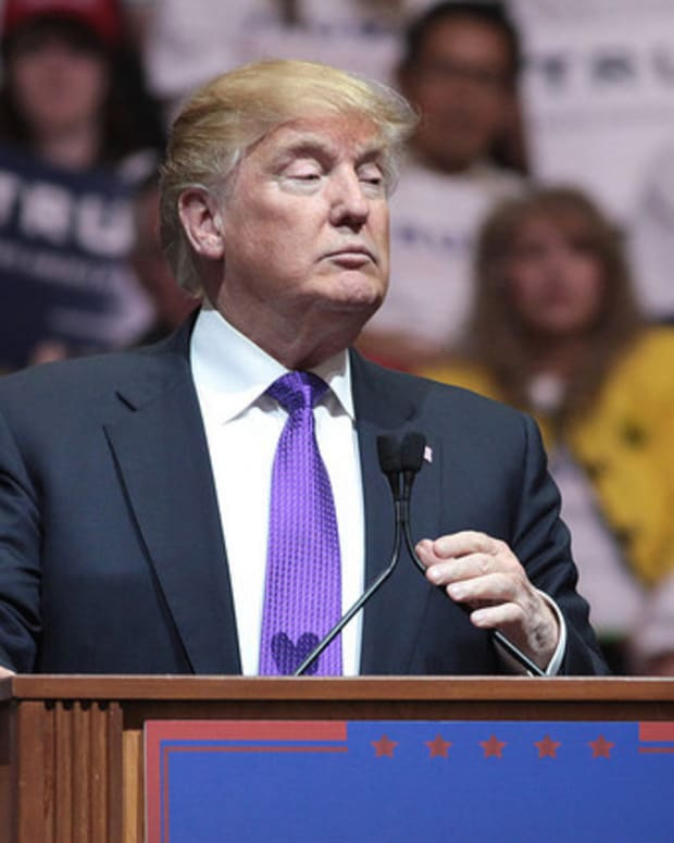 Donald Trump Declares Himself 'The Presumptive Nominee' Promo Image