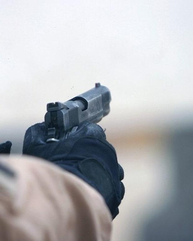 Gunshot.