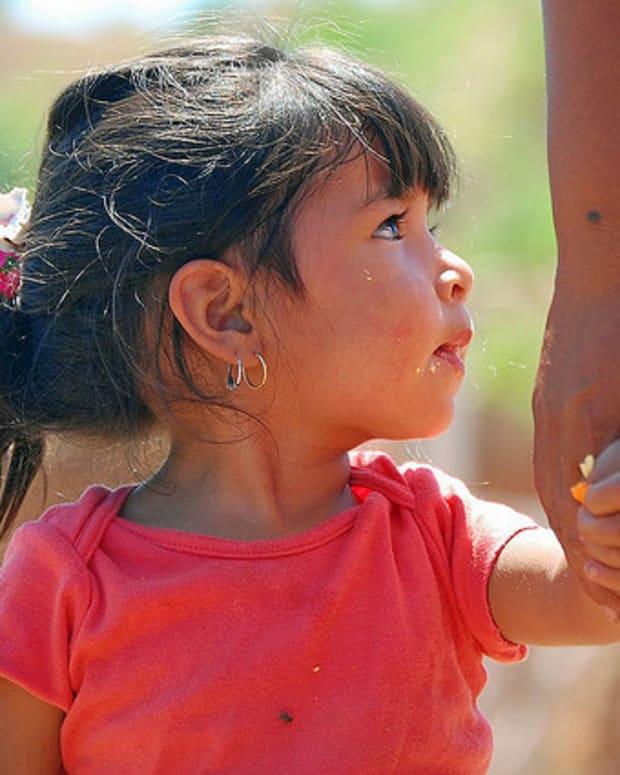 Nogales Mexico Child