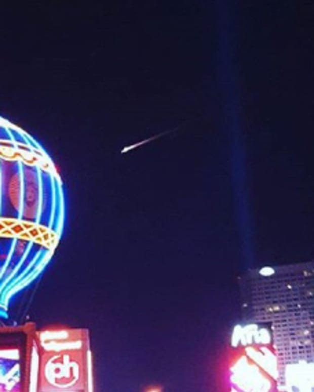 Mysterious Object Spotted In Las Vegas