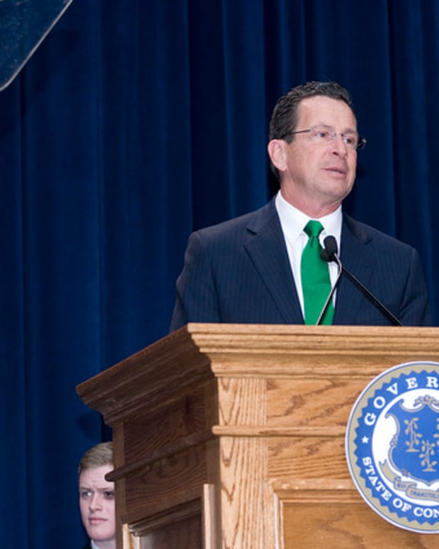 Connecticut Gov. Dannel Malloy.