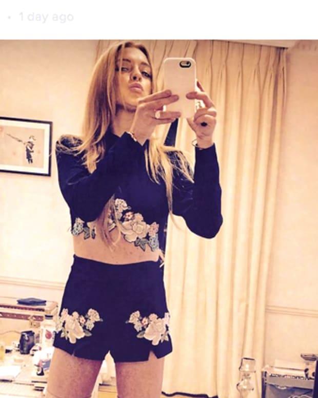 Lindsay Lohan Sharon Tate