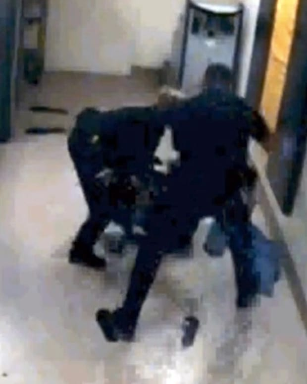 Lawsuit: Deputies Beat Woman In Jail (Video) Promo Image
