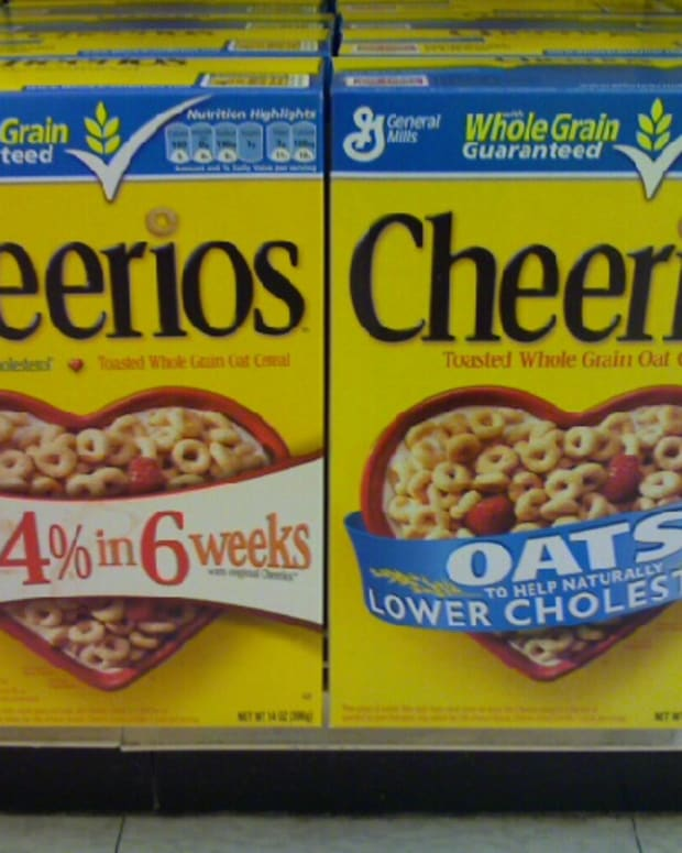 Boxes of Cheerios