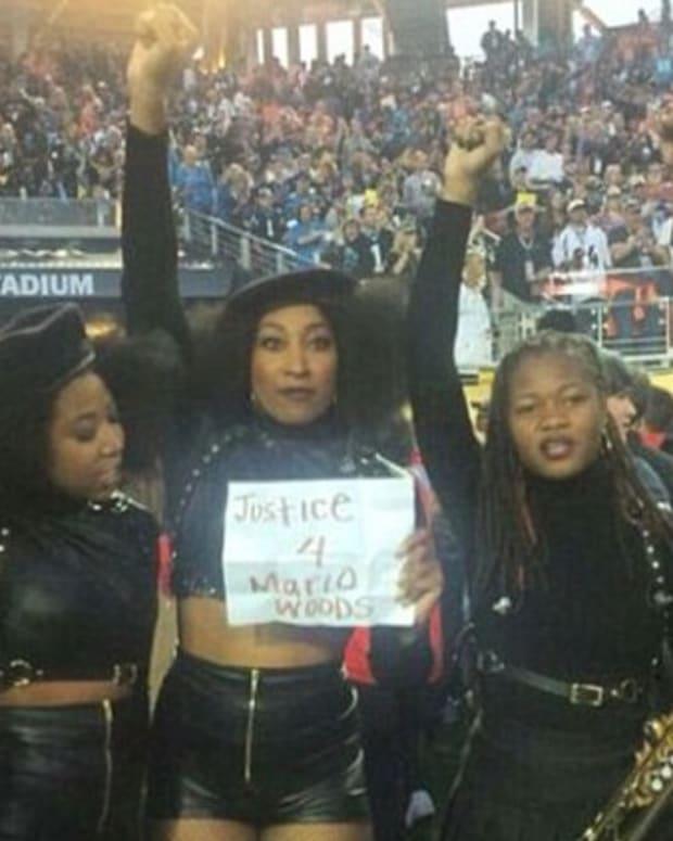 Beyoncé's Super Bowl backup dancers