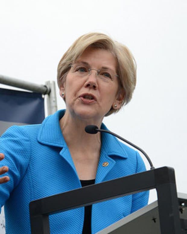 Elizabeth Warren: Trump Trolls People For Votes Promo Image