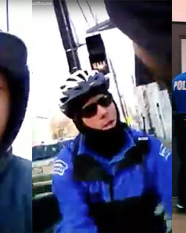 Video Of Cincinnati Man Getting Arrested Goes Viral Promo Image
