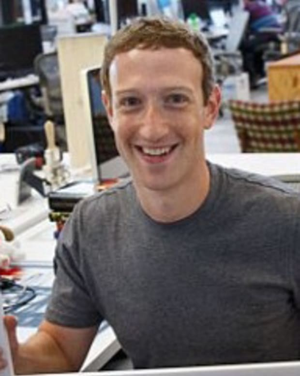 See Anything Odd About Mark Zuckerberg's Computer?  Promo Image