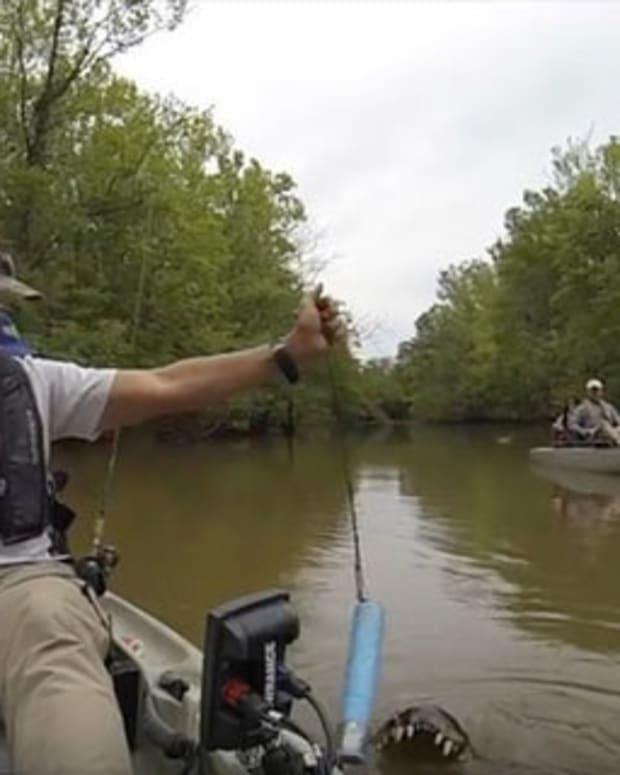 Kayaking Dad, Daughter Get Terrifying Surprise (Video) Promo Image