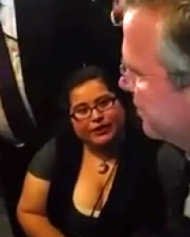 Jeb Bush And Dulce Valencia.