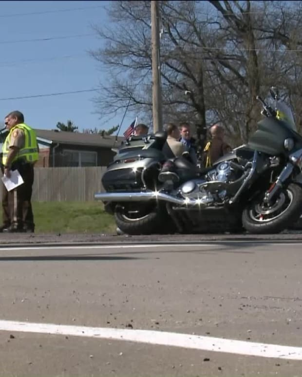 Patriot Guard Motorcyclist Dies During Funeral Procession Promo Image
