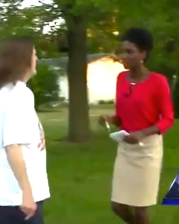 Iowa Woman Calls Black Reporter The N-Word (Video) Promo Image
