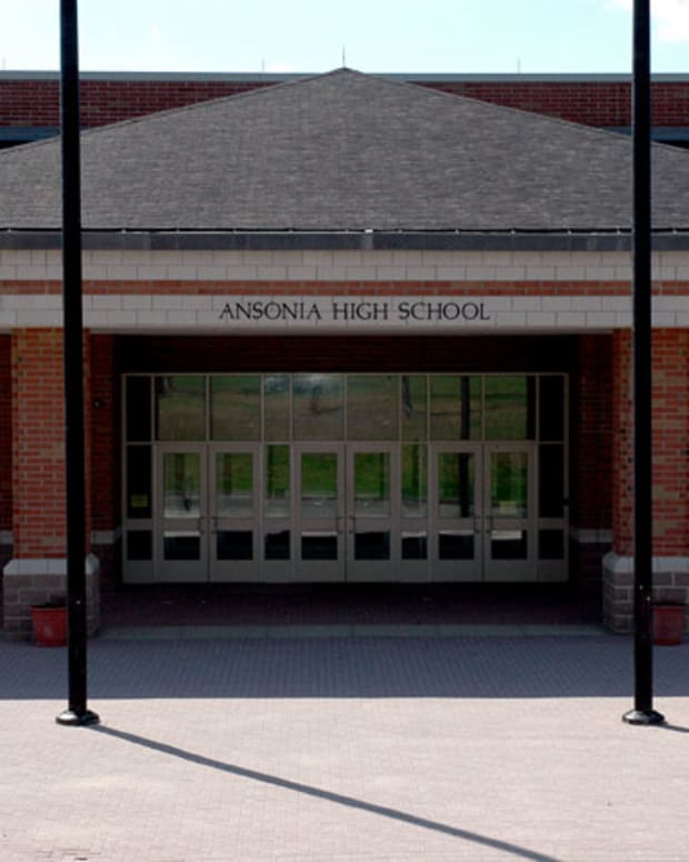 Ansonia High School Sign