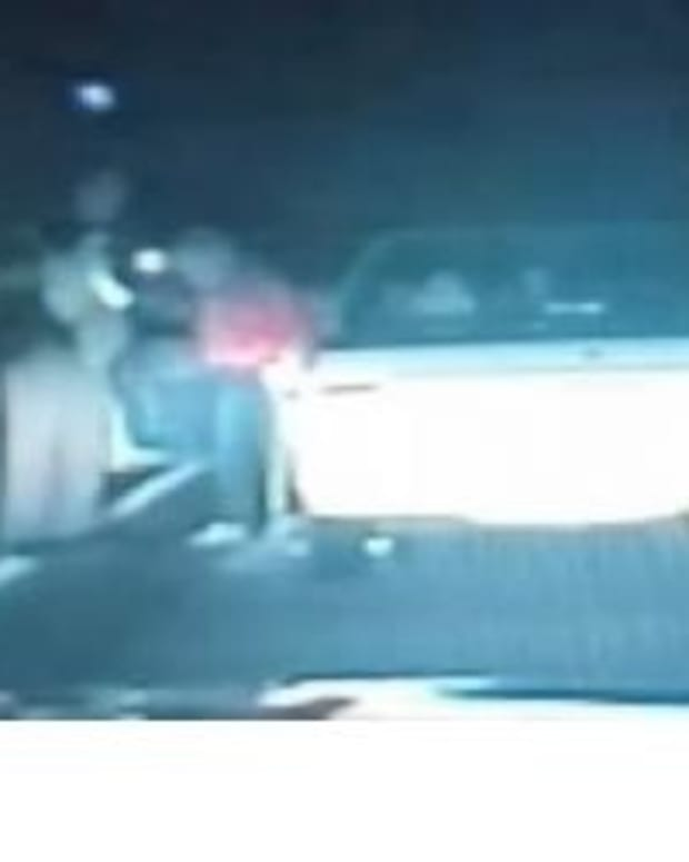 Officer Reacts In Surprising Way To Elderly Woman Speeding To See Her Sick Grandson (Video) Promo Image