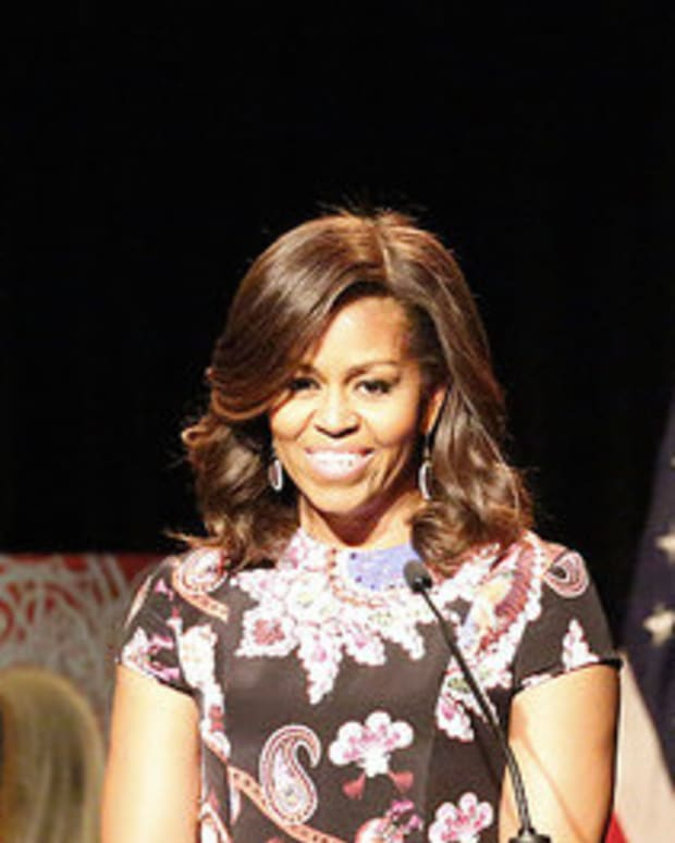 Michelle Obama Reminds Graduates That White House Was Built By Slaves Promo Image