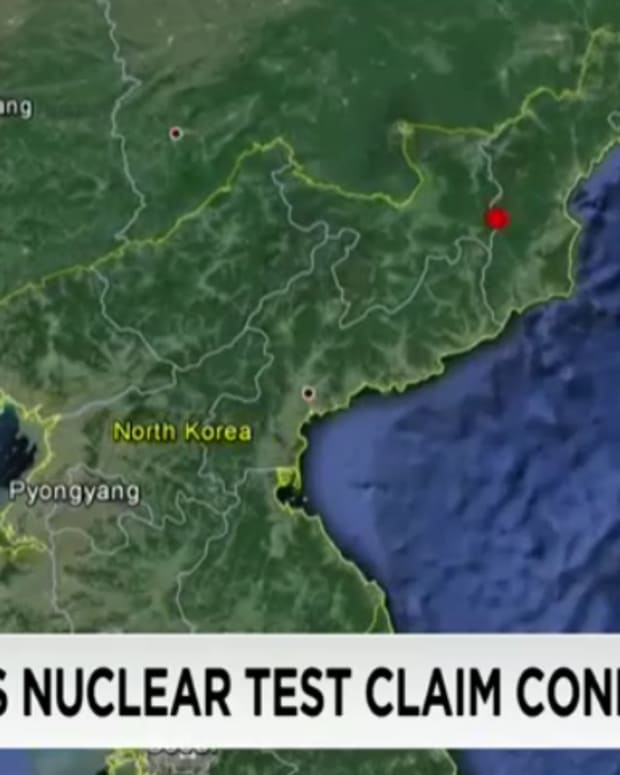 location of seismic event in North Korea