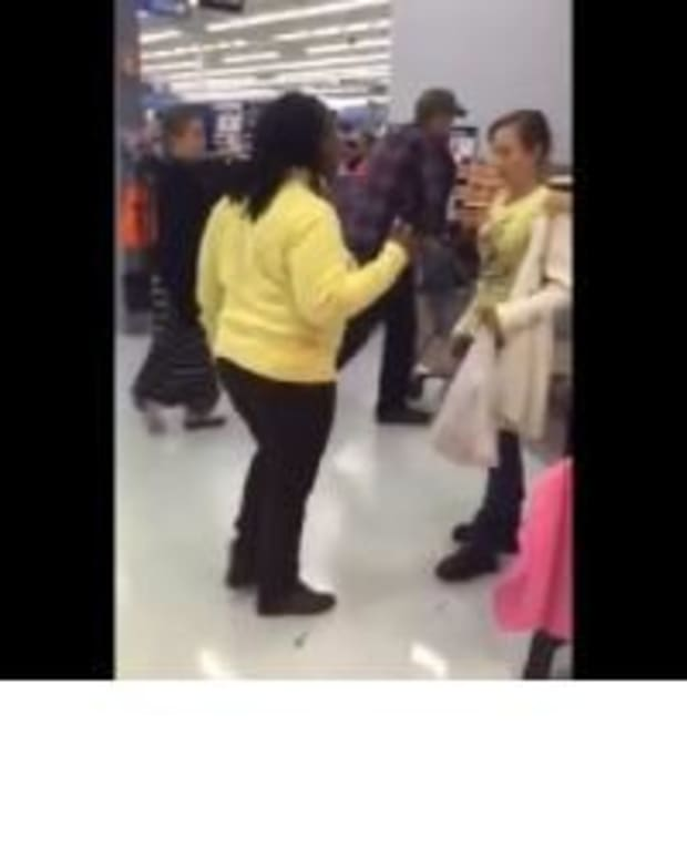 Footage Of Chaos At Walmart Quickly Goes Viral (Video) Promo Image