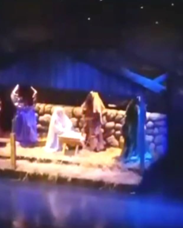 Concord High School Nativity Scene