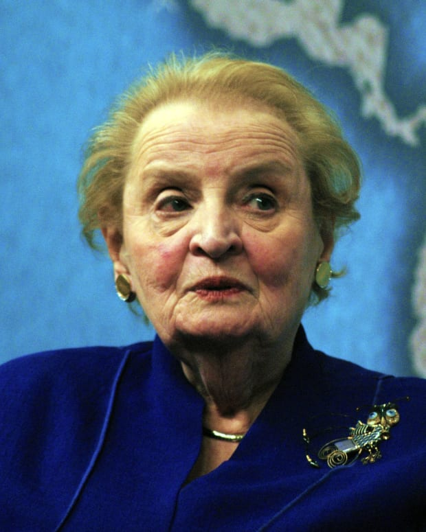 Albright: Trump Would Fail My Foreign Policy Class Promo Image
