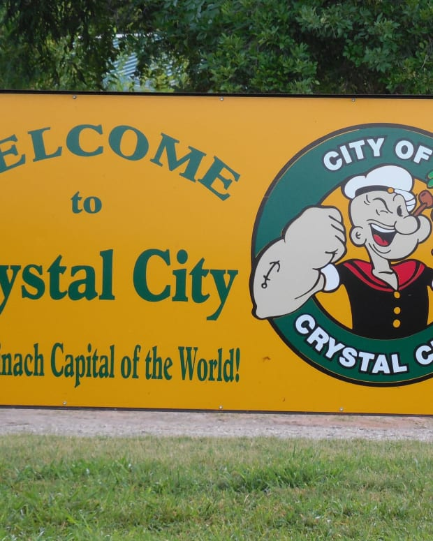 Crystal City, Texas.