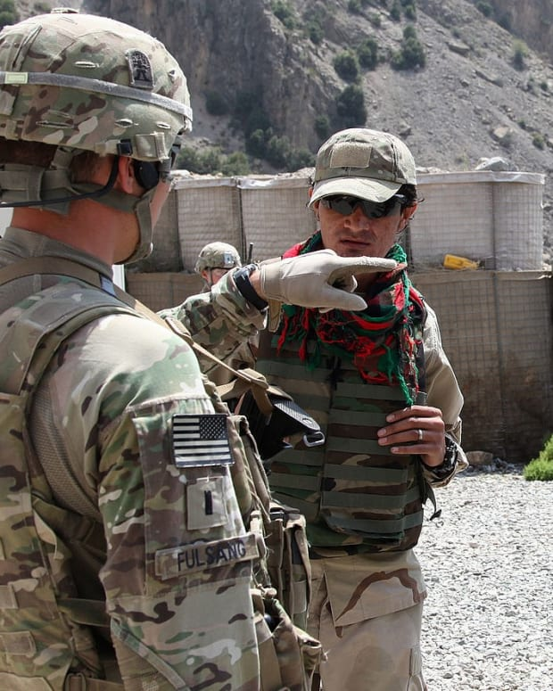 U.S. Soldiers in Afghanistan.