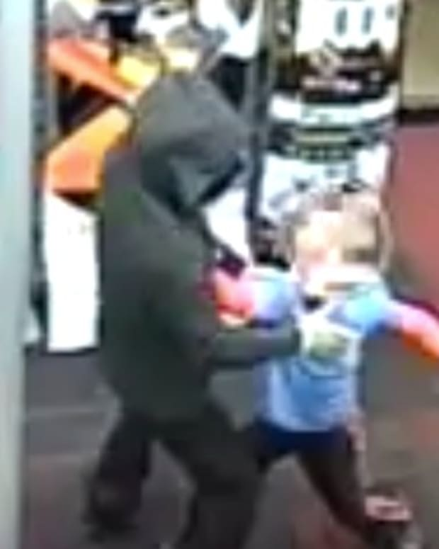 7-Year-Old Boy Punches Armed Robber (Video) Promo Image